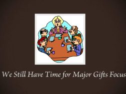 Daily Tip! 90th Day: Major Gift Success Moves to Make Now