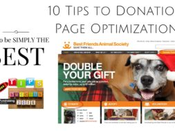 10 Tips For Donor Page Optimization
