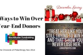 4 Ways to Win Over Year-End Donors