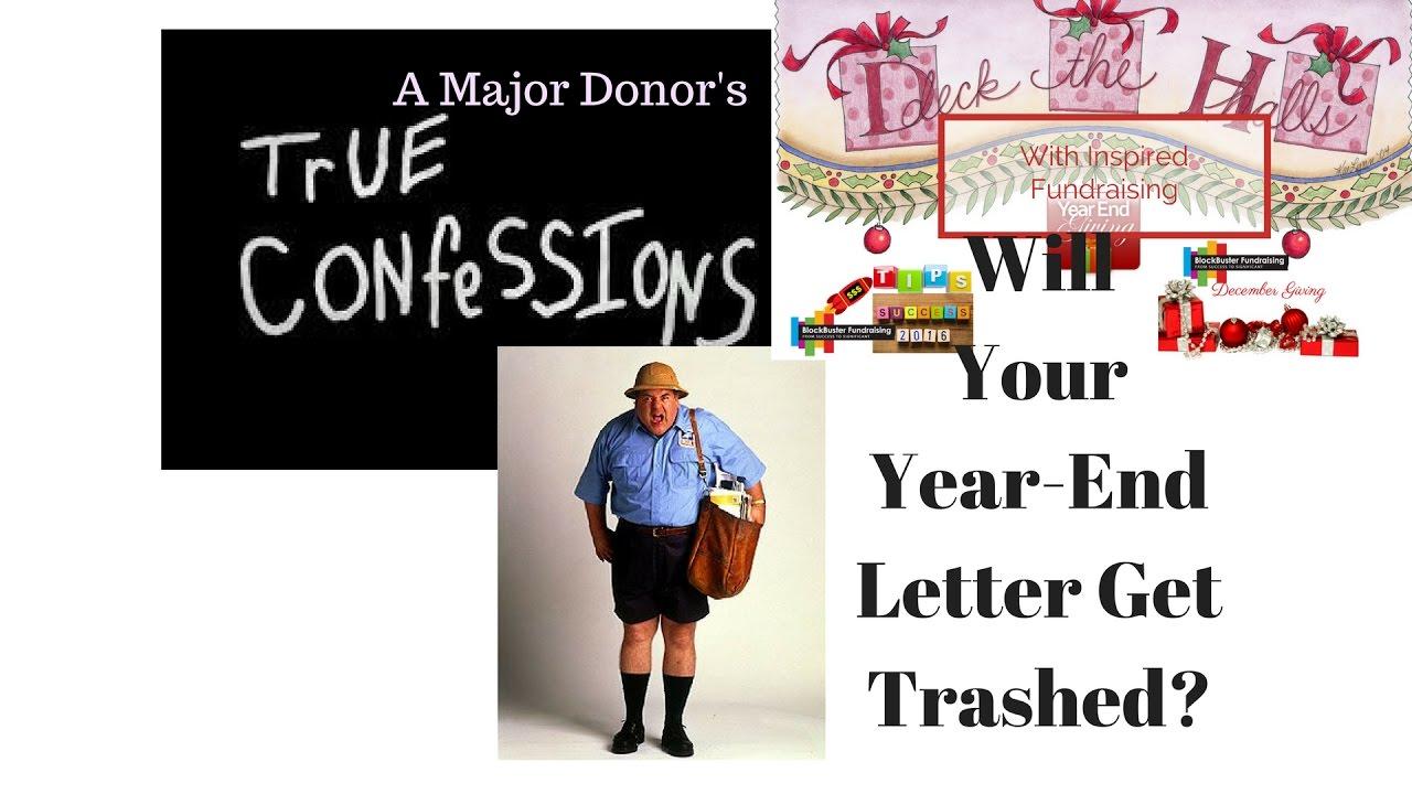 A Major Donor's True Confession