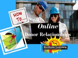 Build Online Donor Relationships Now!
