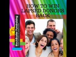How To Win Back Lapsed Donors