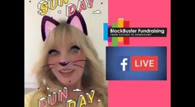 BLOCKBUSTERS SUNDAY FUNDAY Facebook Live