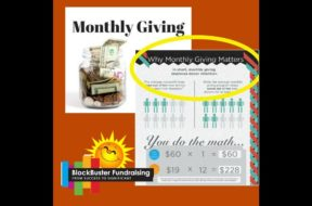 Why Monthly  Giving Should Top Your To-Do List Now
