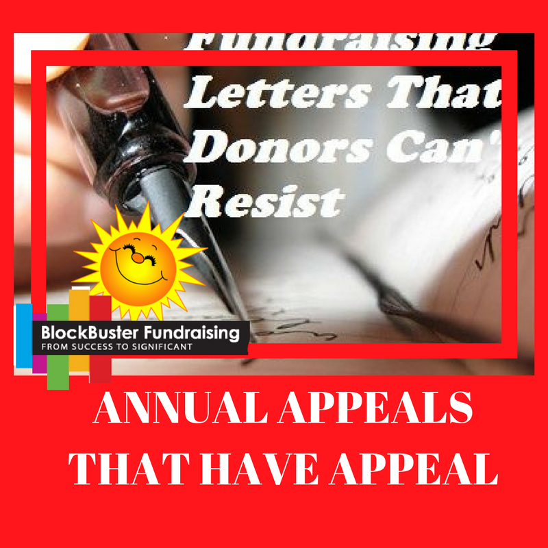 ANNUAL APPEALS THAT SHINE