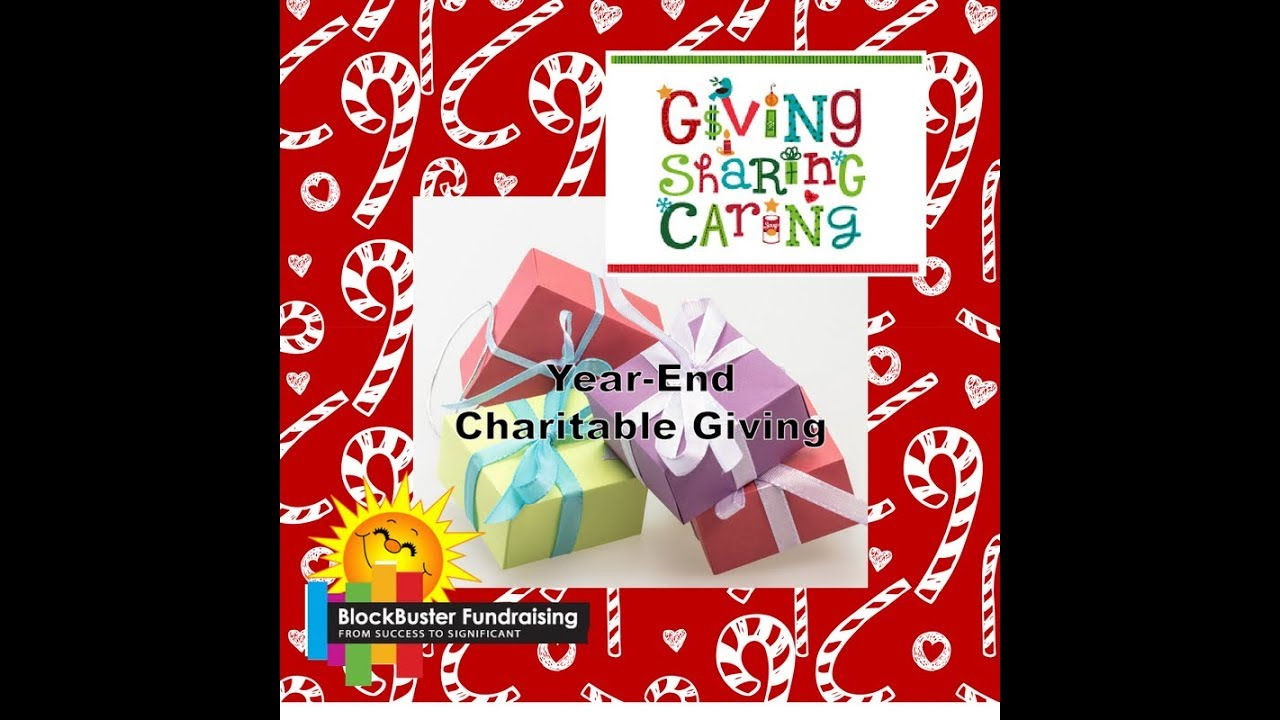 FUNDRAISERS GIVING, CARING, and SHARING DECEMBER  TO DO LIST