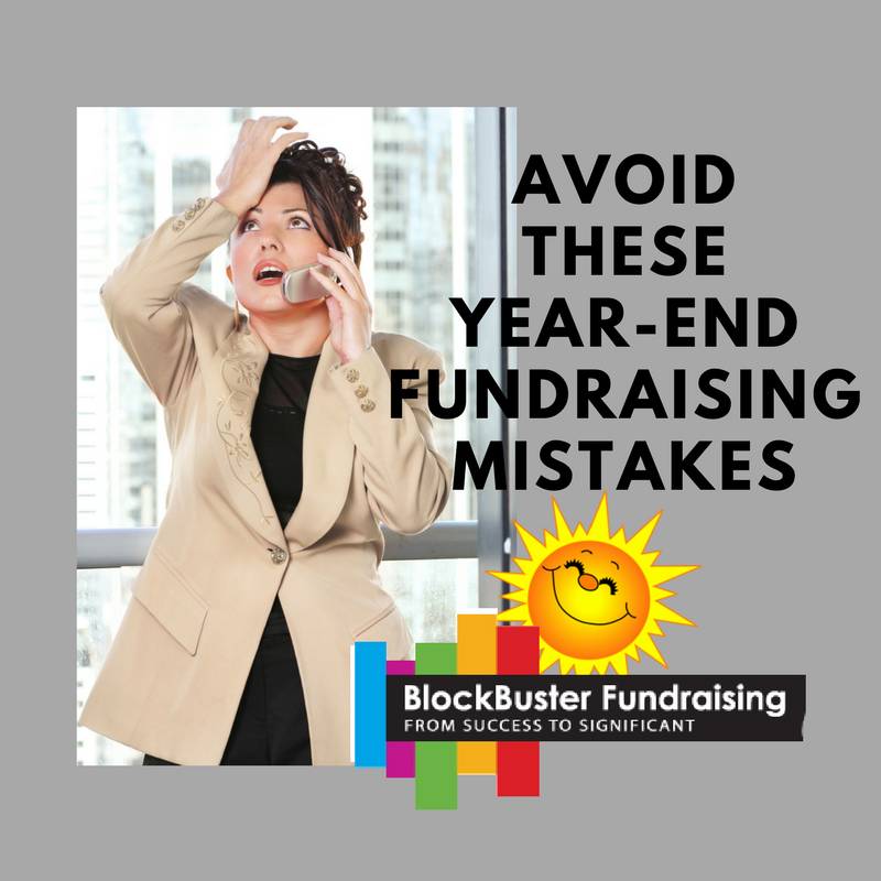 Avoid These Common Year-End Fundraising Mistakes
