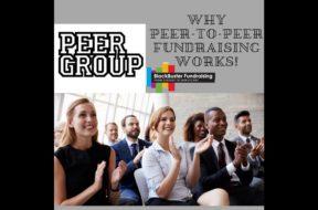 PEP UP WITH PEERS, PEER-TO-PEER FUNDRAISING