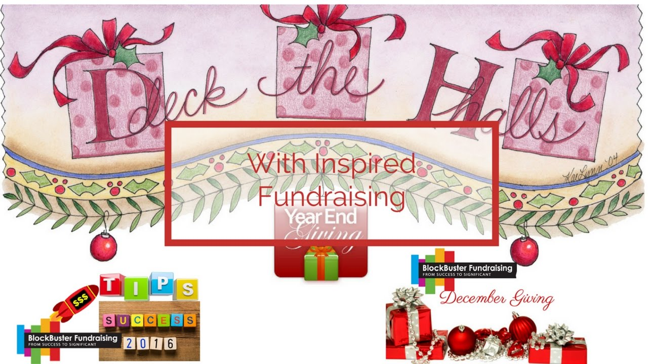 Inspired Year-End Fundraising with 4 Weeks Left