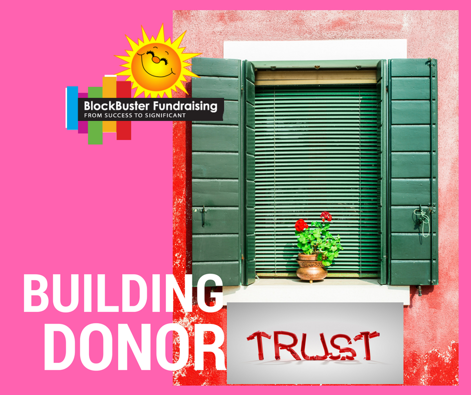 Cultivating Major Donor Trust