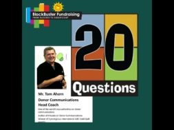20 Questions Created for Fundraisers