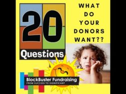 What You Need to Know About Your Donors – 20 Questions