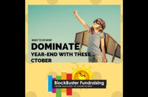 A Fundraisers October To Do List