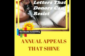 AWESOME ANNUAL APPEAL IDEAS