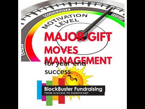 "Magic 'Moves Management"" Steps for Major Gift Success"