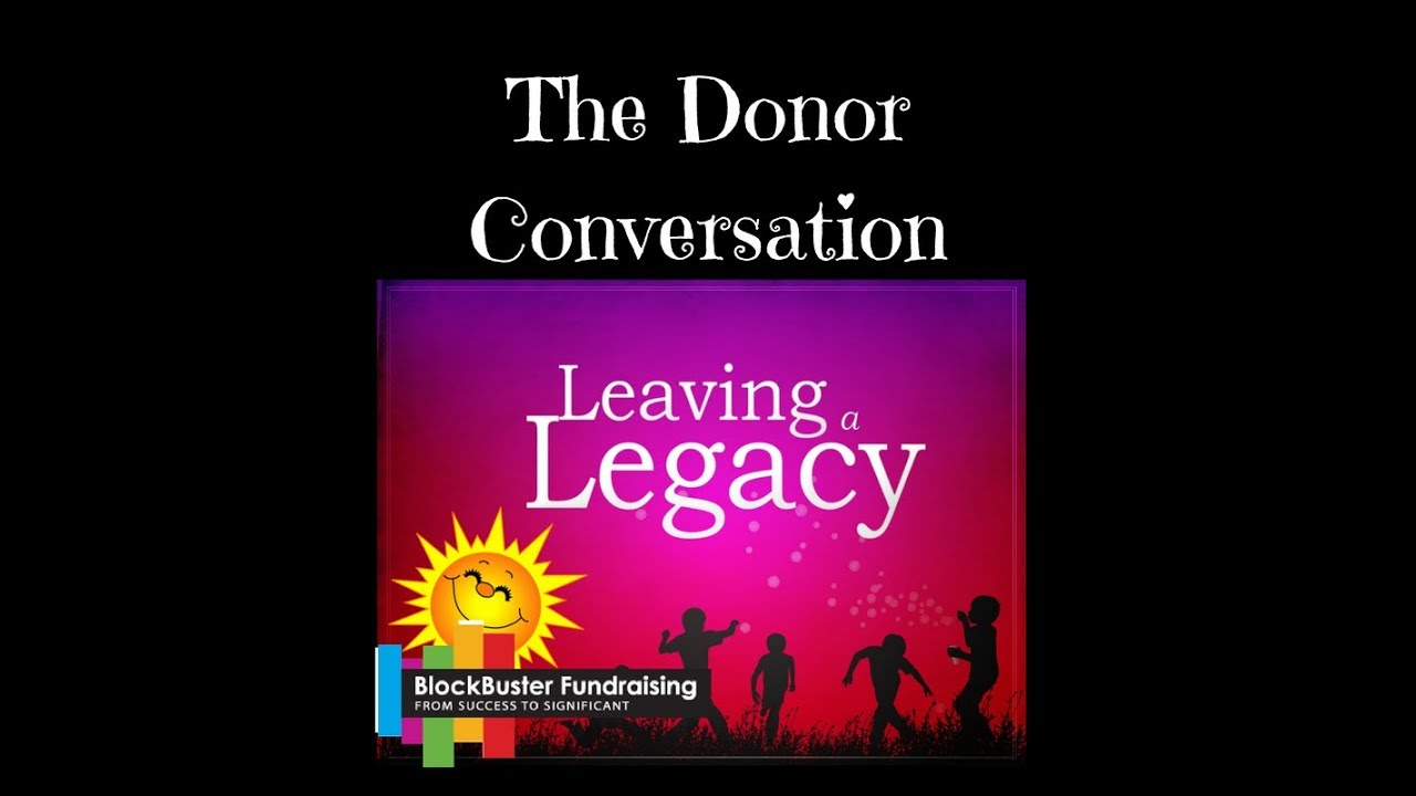 Are You Comfortable With The Legacy Conversation?