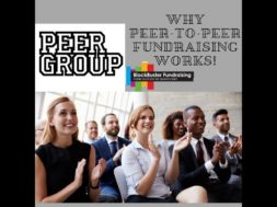 PEP UP WITH PEERS, PEER-TO-PEER FUNDRAISING
